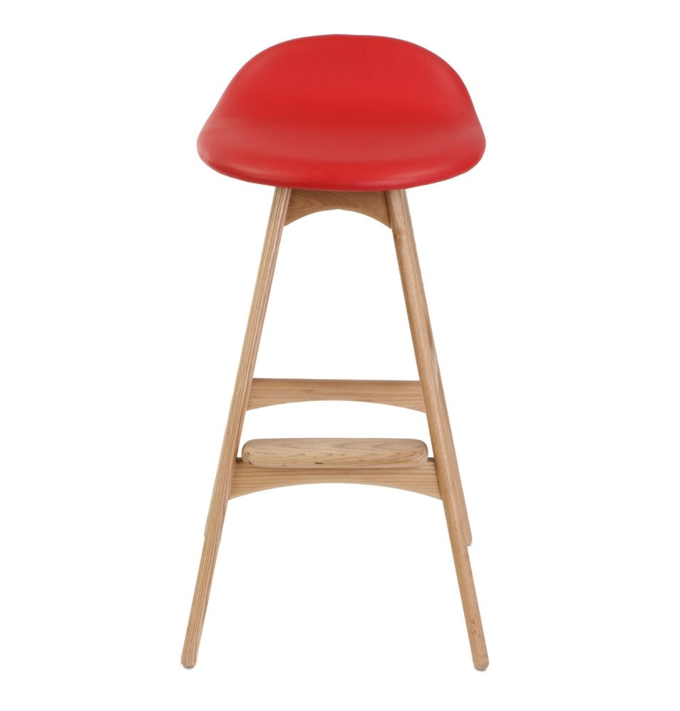 Replica Erik Buch Bar Stool 66cm Ash By Erik Buch Matt