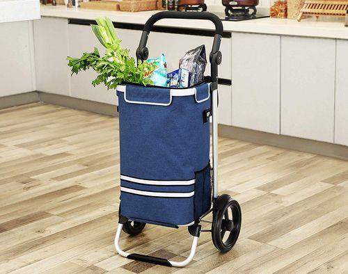 Songmics Shopping Bag On Wheels 4 wheel shopping trolley