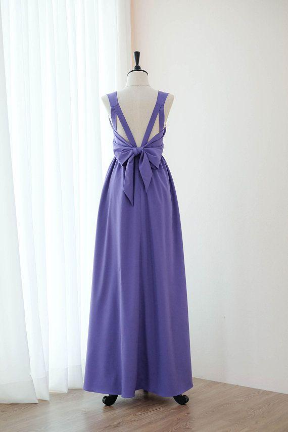 1cad6667b95c Royal purple dress floor length bridesmaid dress purple long dress purple  prom party cocktail dress