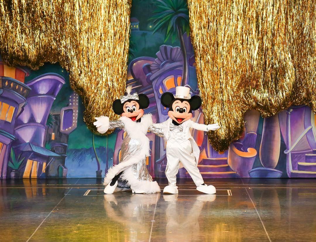 これ デハリウッドのプレミアパーティに遅れちゃうわよ もはや懐かしい mickeymouse ワンマンズドリーム2 ワンマン ショーベース ディズニー ディズニーランド ワンマン