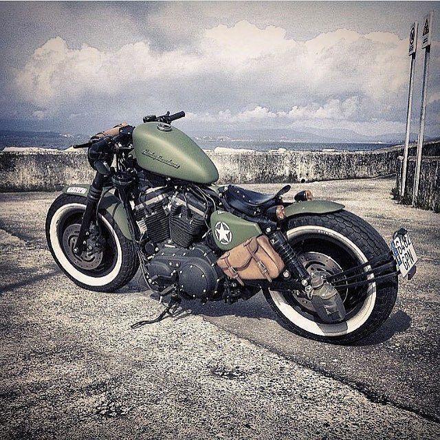 Custom Harley Davidson Bobber & Chopper Bikes Old school motorcycles and ..... -  Custom Harley Davidson Bobber & Chopper Bikes Old School Motorcycles and … – Harley Davidson Sp - #amp #bikes #bobber #chopper #custom #davidson #harley #minimalisttattooideas #motorcycles #school #tattoofonts #tattoohombre #tattoooldschool