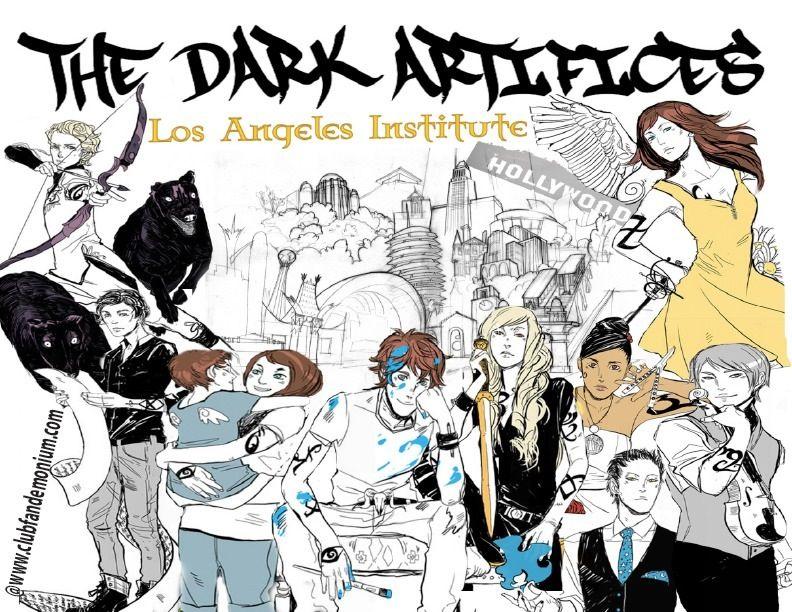 The dark artifices.  Cassandra Clare