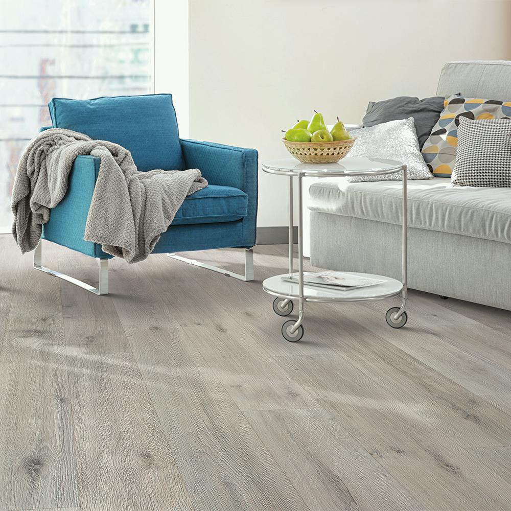 Pergo Outlast Montage Grey Oak 10 Mm Thick X 7 48 In Wide X 47 24 In Length Laminate Flooring 19 63 Sq Ft Pergo Laminate Flooring Grey Oak Pergo Outlast