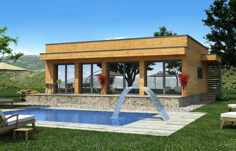 Pin de casas prefabricadas en casas prefabricadas madera for Casas de campo prefabricadas