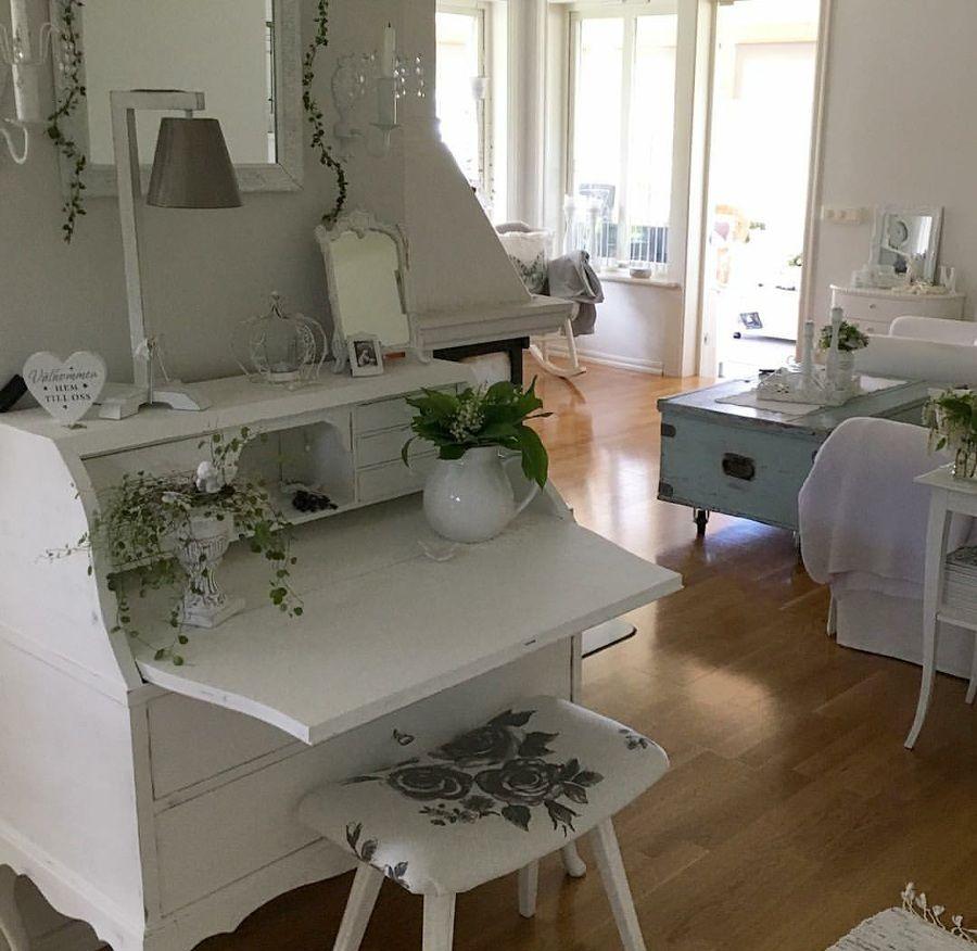 Shabby and charming nordic style a beautiful swedish villa