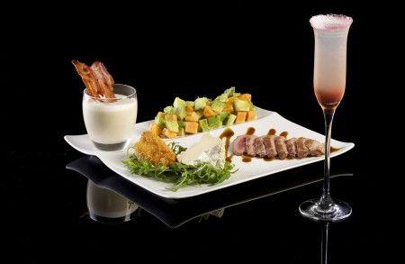 Restaurant La Table du Kube à Paris : Déclinaison L.A Iced Tea