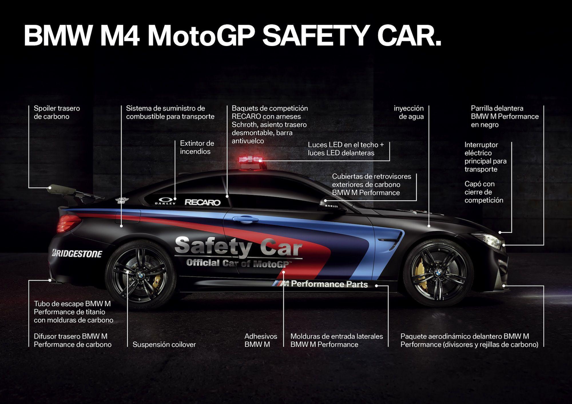 BMW M4 MotoGP SAFETY CAR 加持 と 車