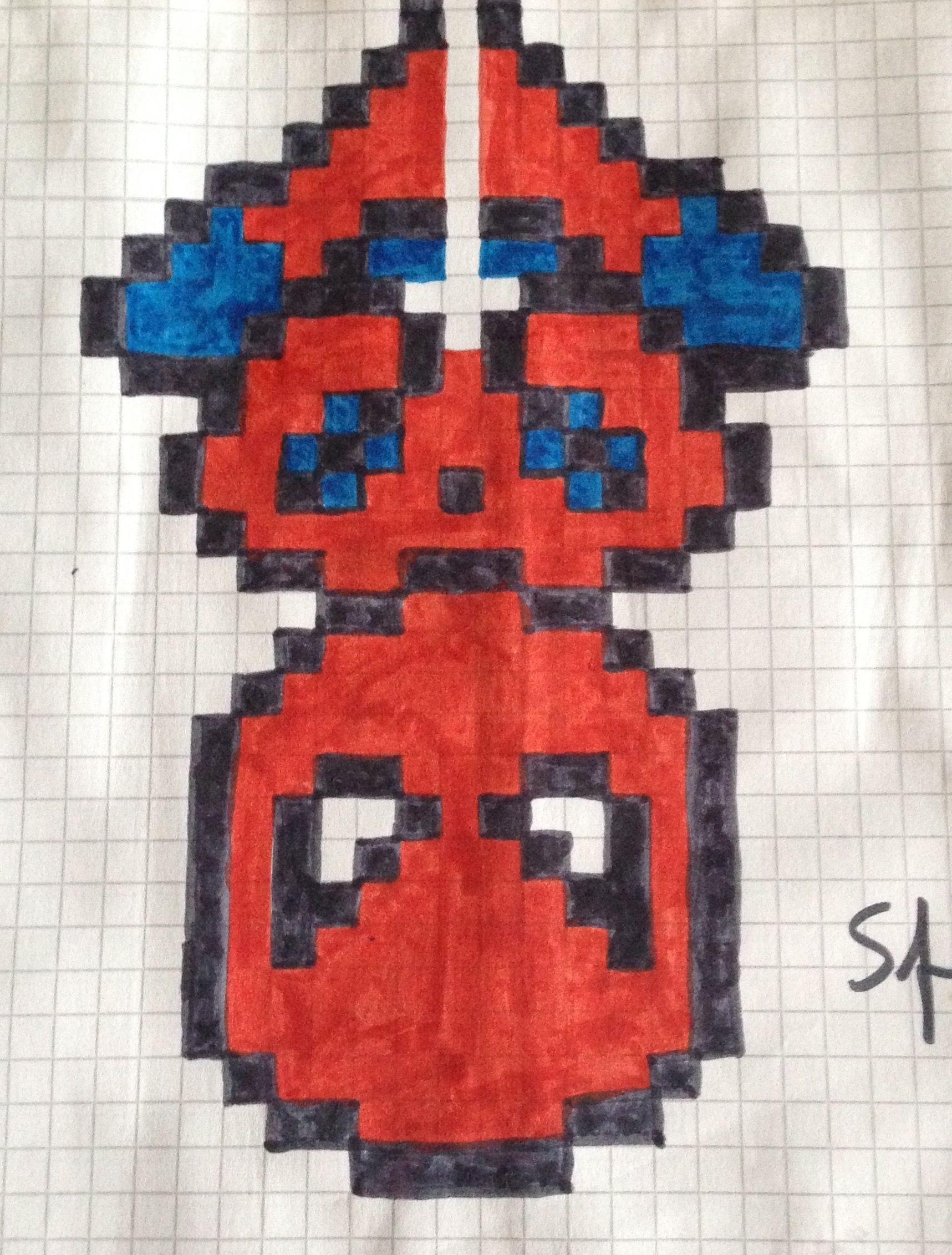 Fantástico Fabricante De Plantillas De Pixel Art Imagen - Colección ...