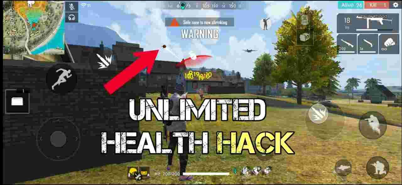 [VIP HACK] Free Fire Unlimited Health Hack APK in 2020