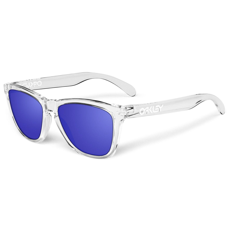 cc9c76116b114e Les  lunettes de  soleil Oakley Frogskins   Lunette de soleil ...