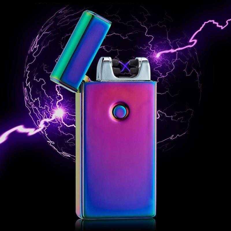 Plasma Lighter Free Shipping Flameless Lighter Coil Lighter Electric Lighter