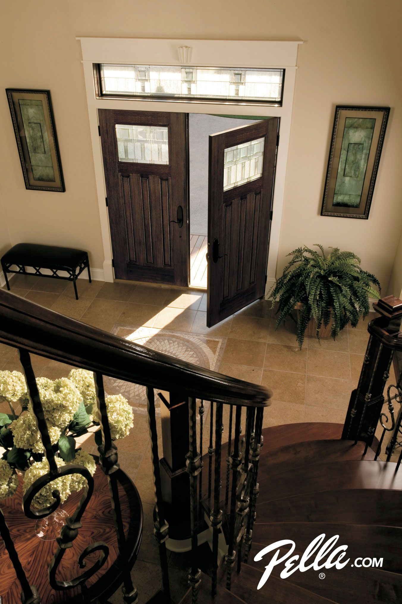 Create An Elegant Entryway With High Performance Pella