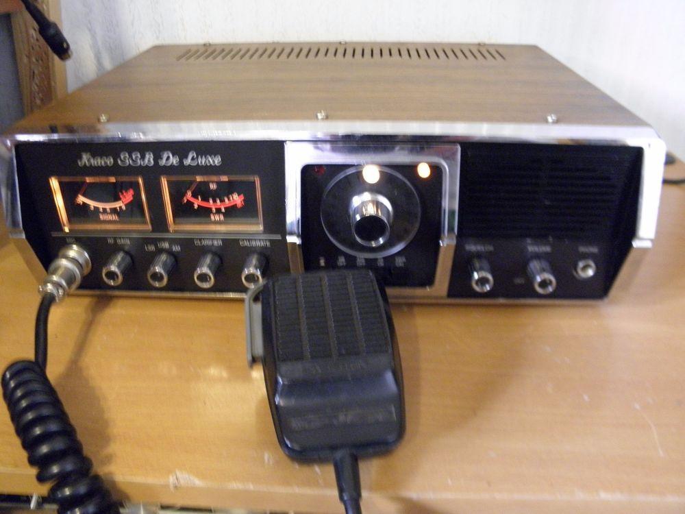 kraco model ssb de luxe cb radio base station 23 channel with ssb l@@k # kraco