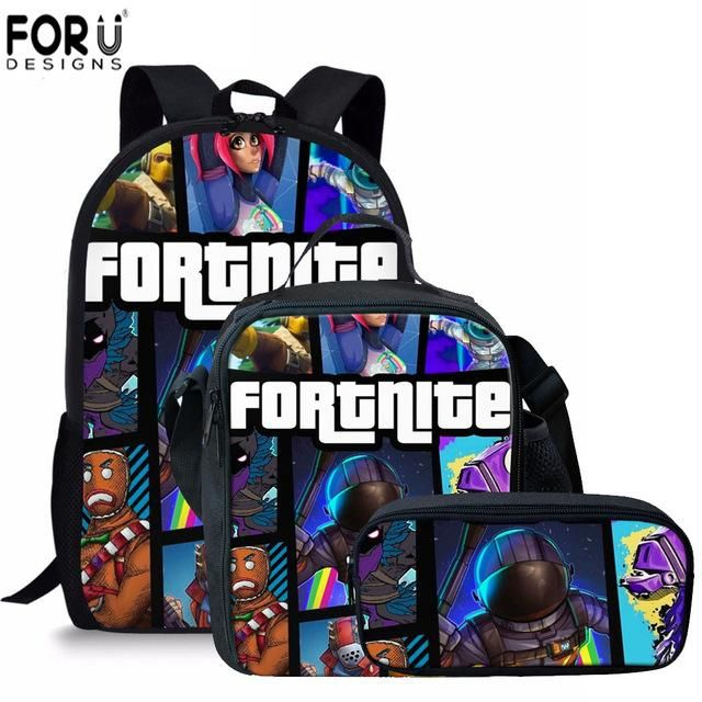 Forudesigns Famous Game Roblox Backpacks Students Boys ...