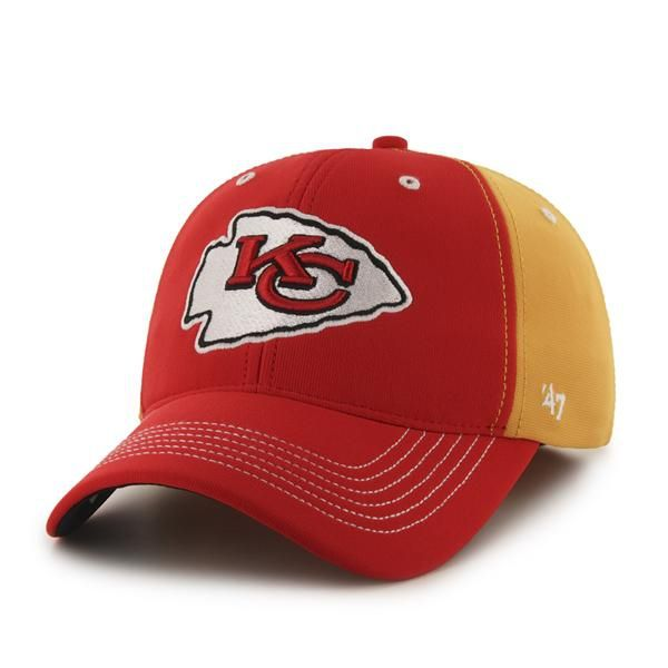 huge selection of 132cf 59e1a Kansas City Chiefs Carson Closer Gold 47 Brand Stretch Fit Hat