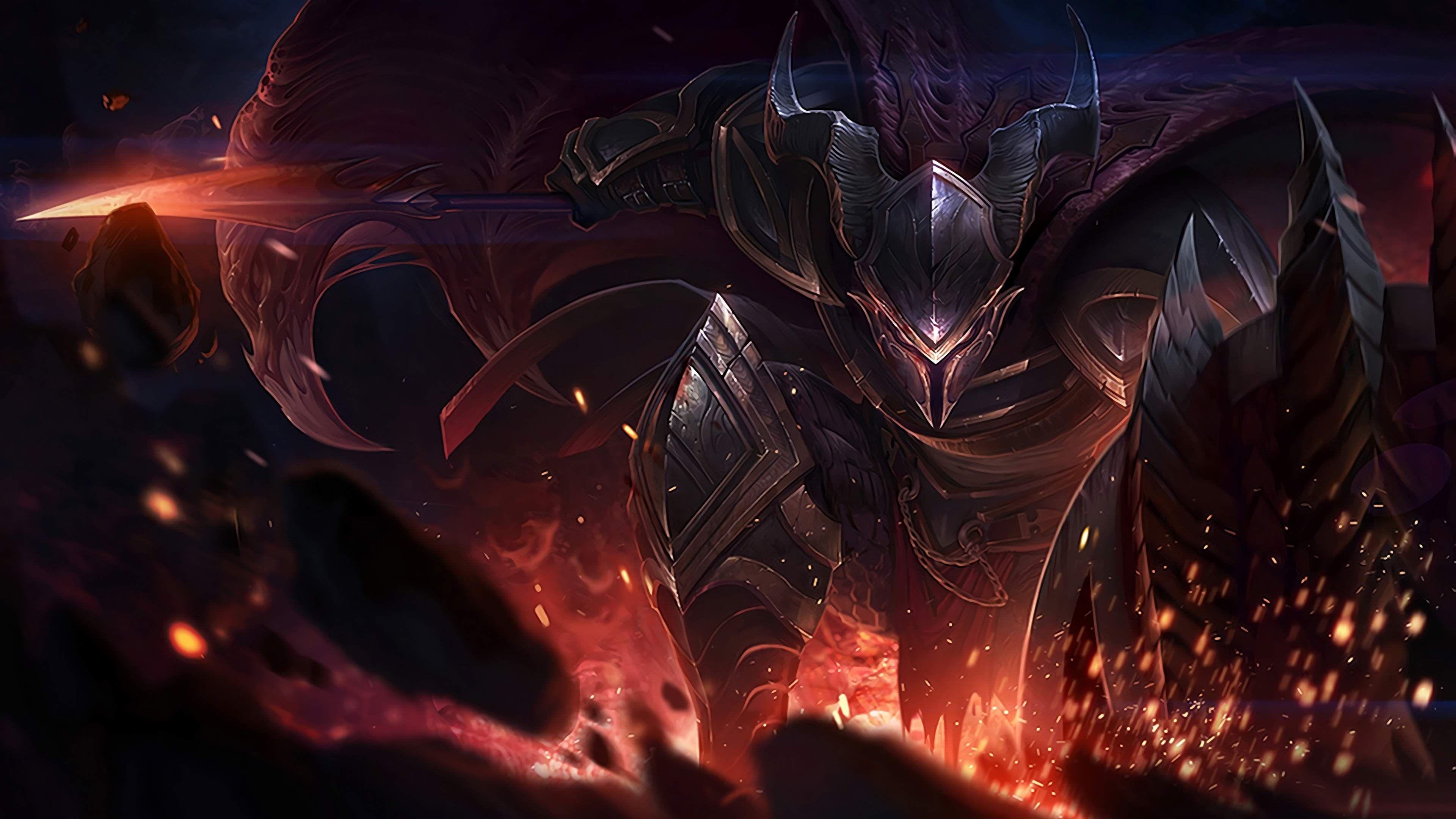 Game Lol Ultra Hd 4k Ultra Hd Wallpaper Pantheon League Of Legends Lol League Of Legends League Of Legends