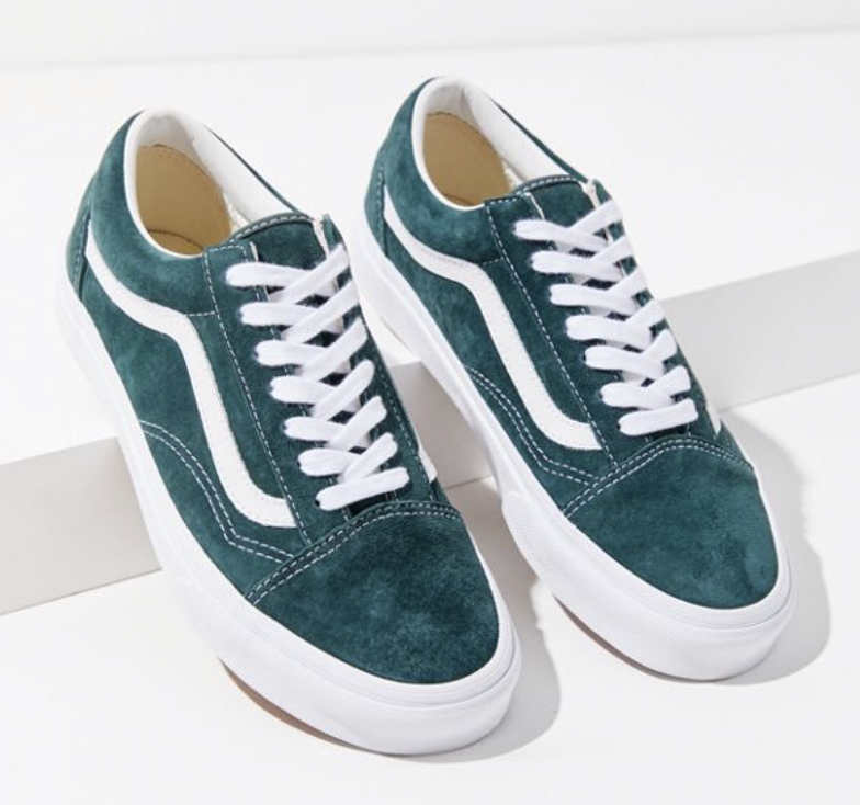 Vans Old Skool Suede Sneaker in 2020 | Vans old skool, Suede