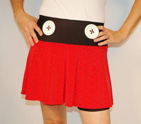 MouseAboutTown SparkleTech | SparkleTech running skirt