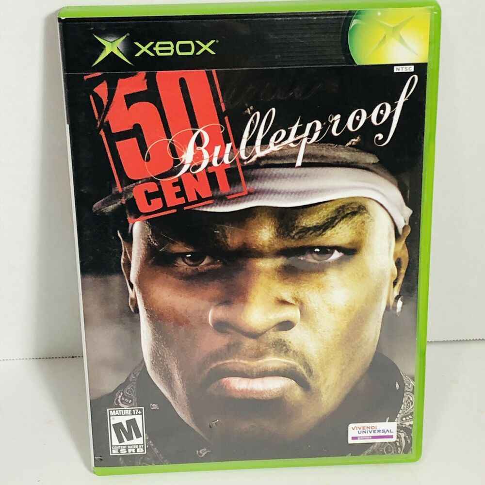 Microsoft Xbox 50 Cent Bulletproof Videogame With Images Xbox