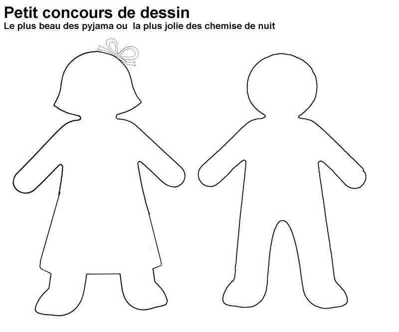 Silhouette fille gar on scoutisme pinterest silhouette enfant dessin silhouette et - Bonhomme fille ...