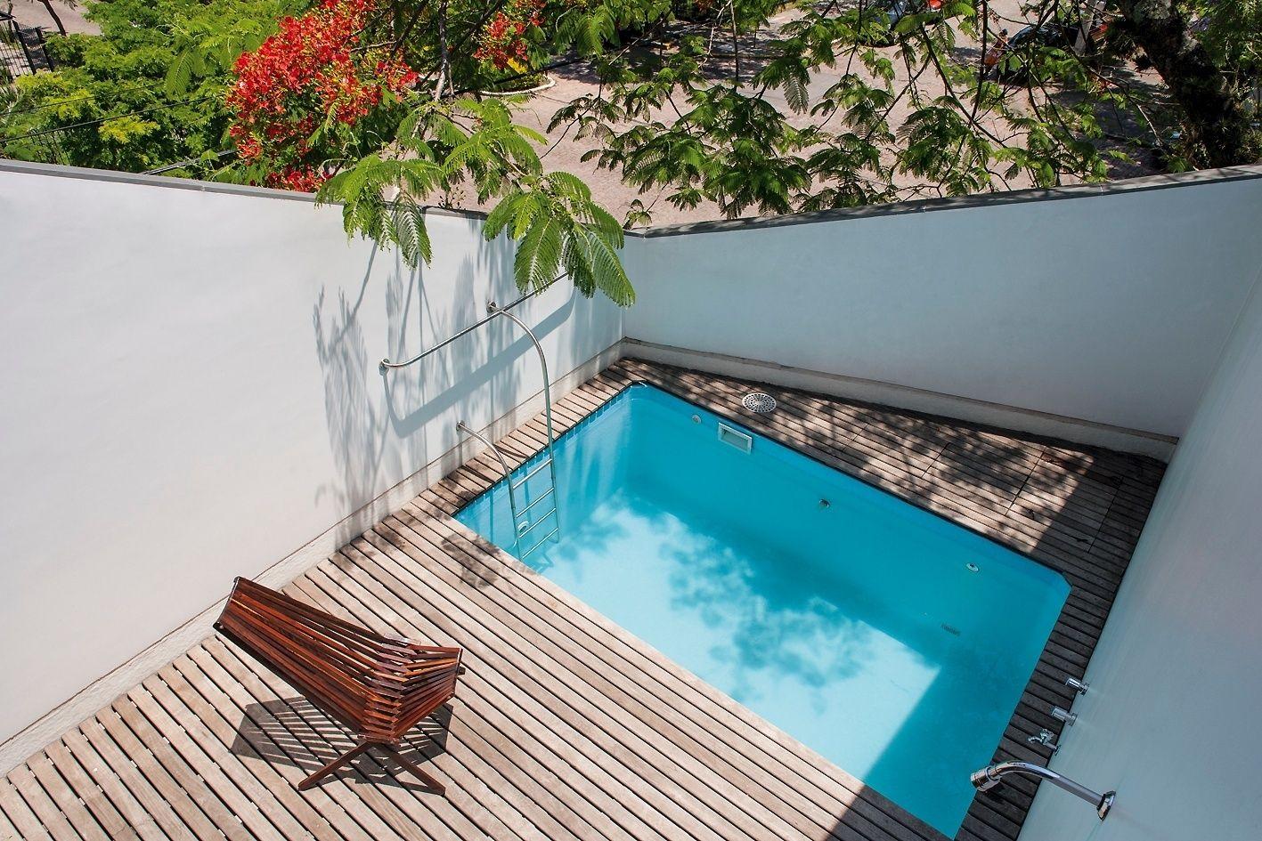 resultado de imagem para piscina pequena alvenaria | inspiração