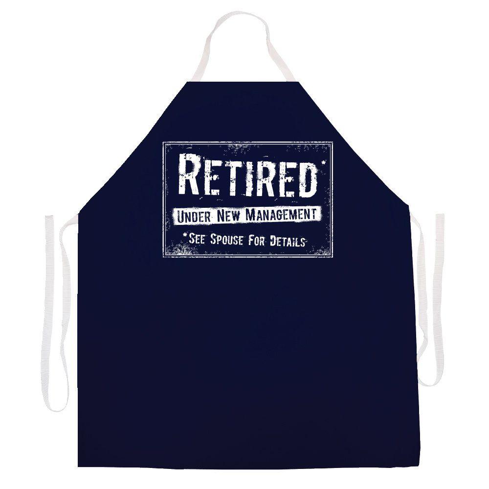 Attitude aprons 2499 retired new mangement apron amazon