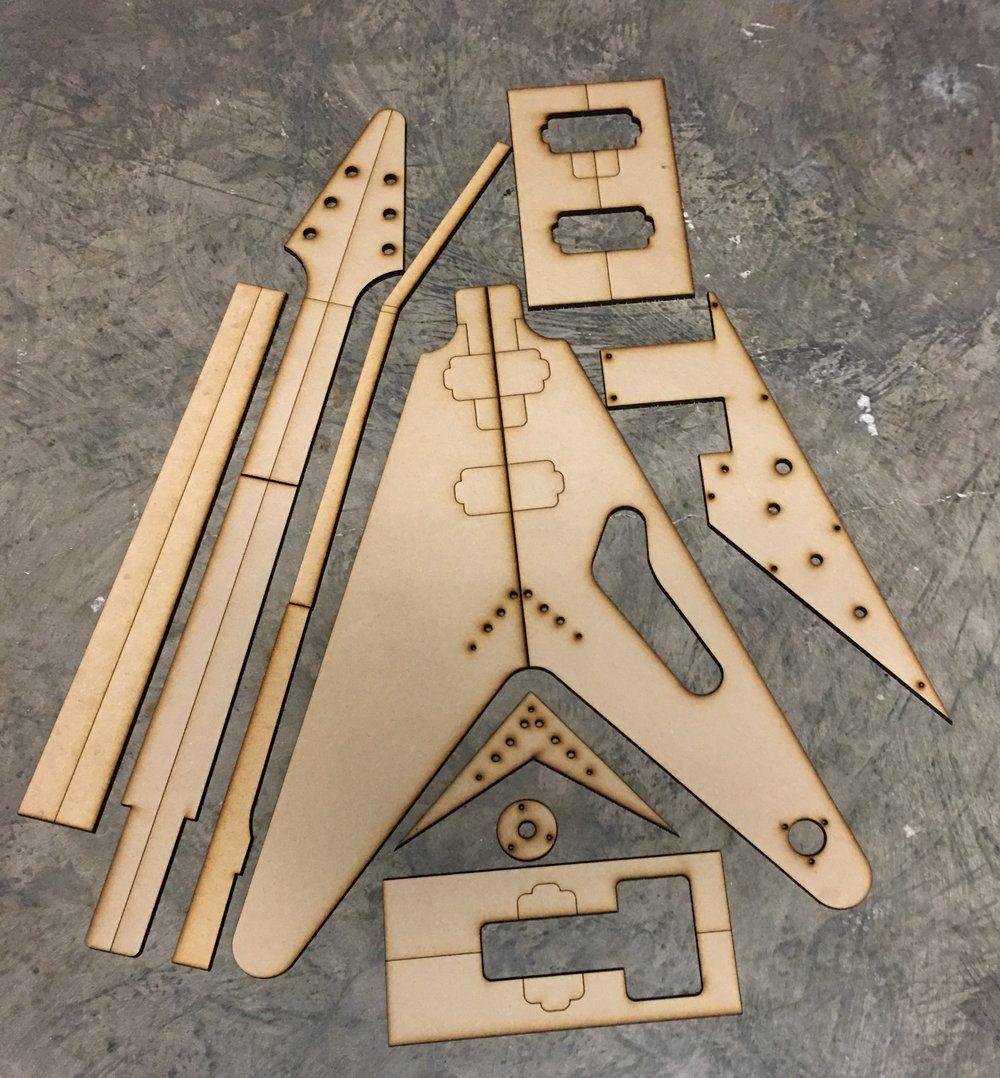 1958 Flying V — Guitar Building Templates