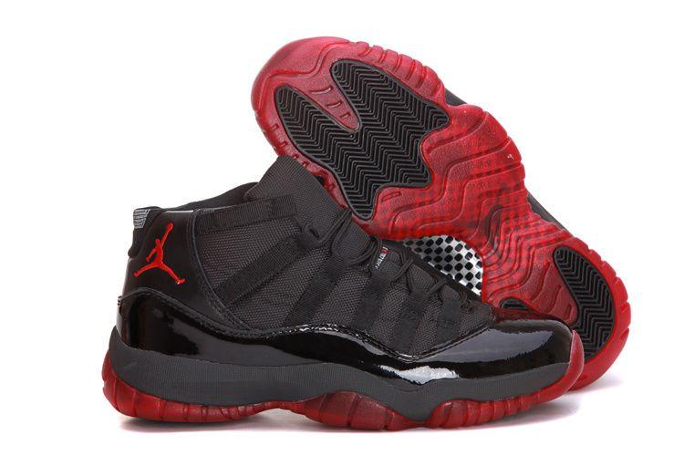 Air Jordan Black And Red 11
