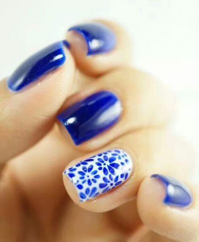 unhas azuis with colorama - esmaltes   on Fashionfreax you can discover new designers, brands & trends.