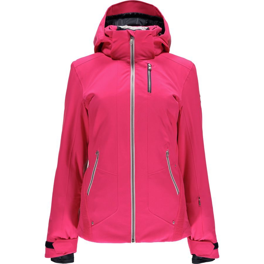 85817af10 Spyder Pandora Jacket - Women's Bryte Pink/White/Depth Ski Shop, Winter Gear