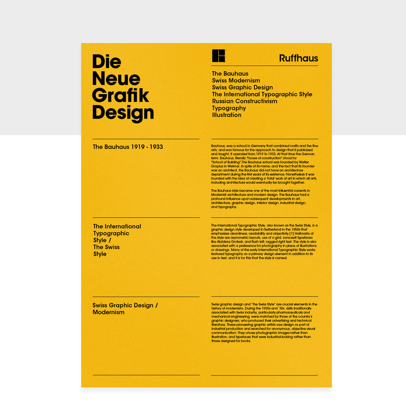Swiss Style In Typography In 2020 Swiss Design Portfolio Web Design Swiss Style