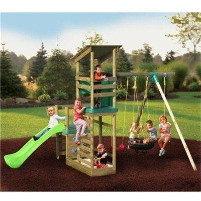 plastic Backyard swing n slide sets | Little Tikes ...