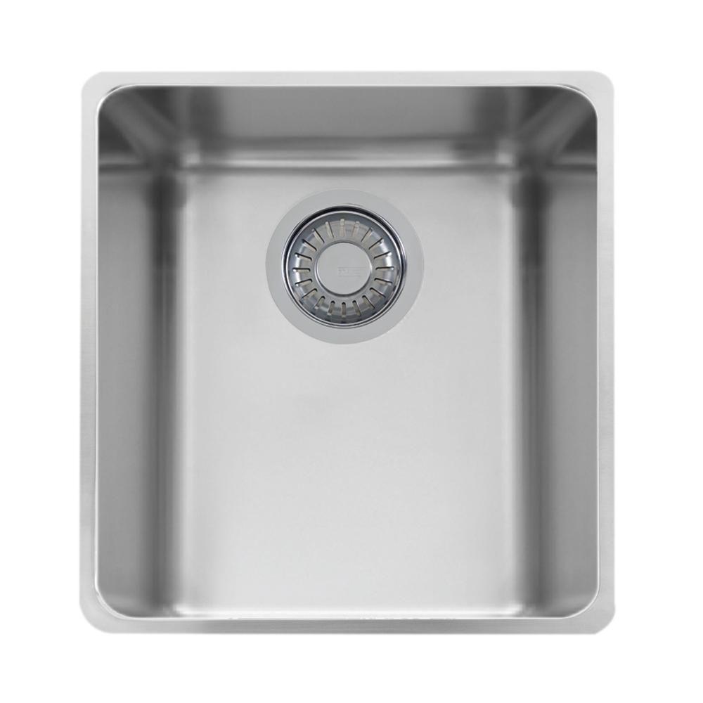 Franke Kubus Undermount Stainless Steel Silver 14 56 In Single
