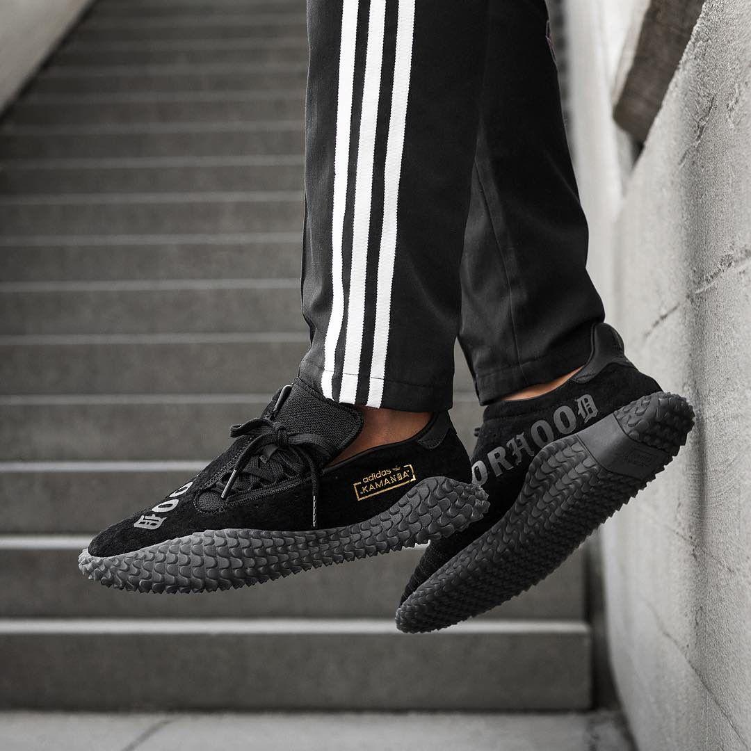 newest 8f7bd 5f95a Release Date  September 1, 2018 Neighborhood x Adidas Kamanda 01 Black  https