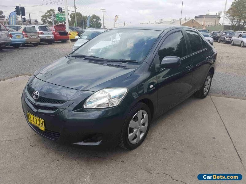 Car For Sale 2007 Toyota Yaris Ncp93r Yrs Black Automatic 4sp A