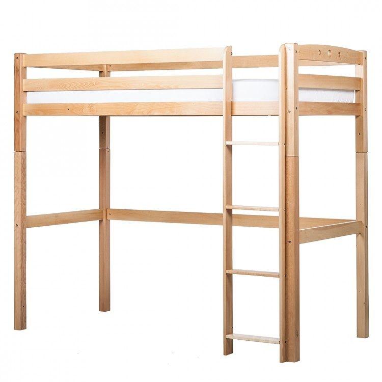 Comment construire une mezzanine id es d coration - Lit mezzanine 2 places bois ...
