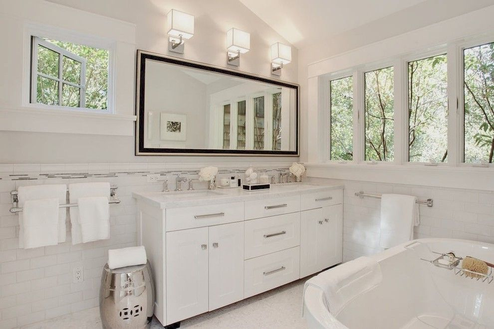 Designer Bathroom Vanities with Sconces Brown Vanity Stained Home