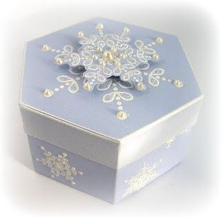Hexagon Box with template