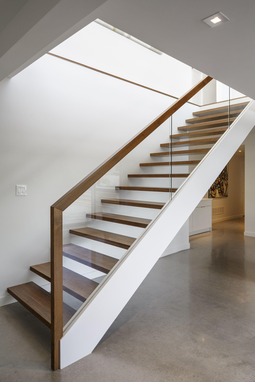 Gallery of Dunrobin Shores Christopher Simmonds Architect 3 Glass Stair BalustradeGlass