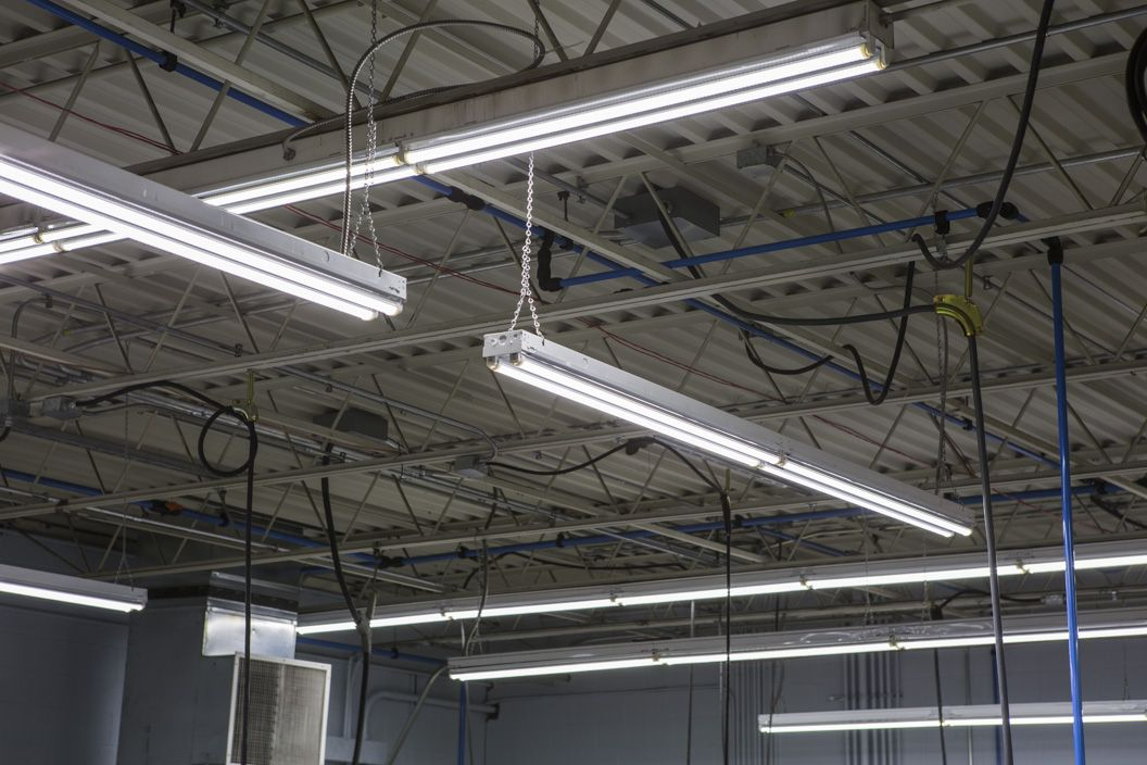 Interior Photographs Of Truline S Warehouse Using Our Led