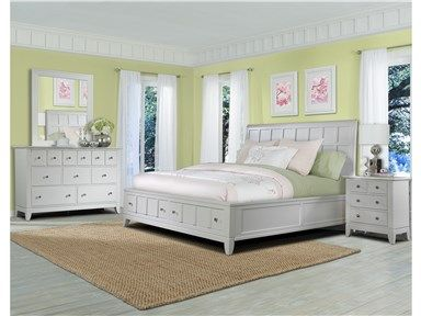 Shop For Folio 21 Palmerton White King Storage Bed 141373 And