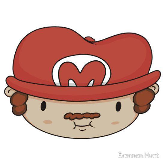 Mario by Brennan Hunt