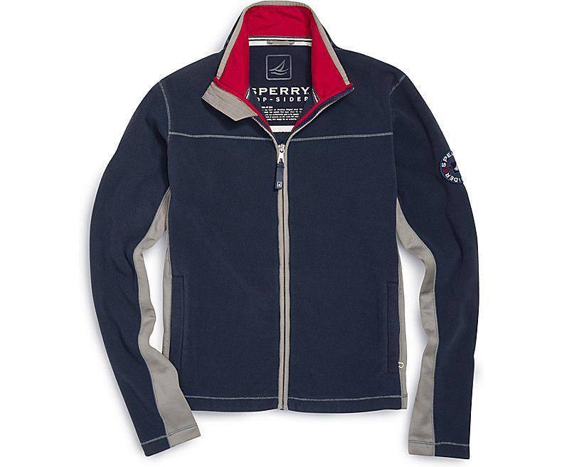 Polar Fleece Jacket in Navy by Sperry