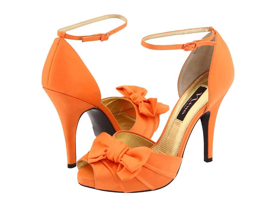 Perfect Orange Shoes For The Bride Or Bridesmaids!