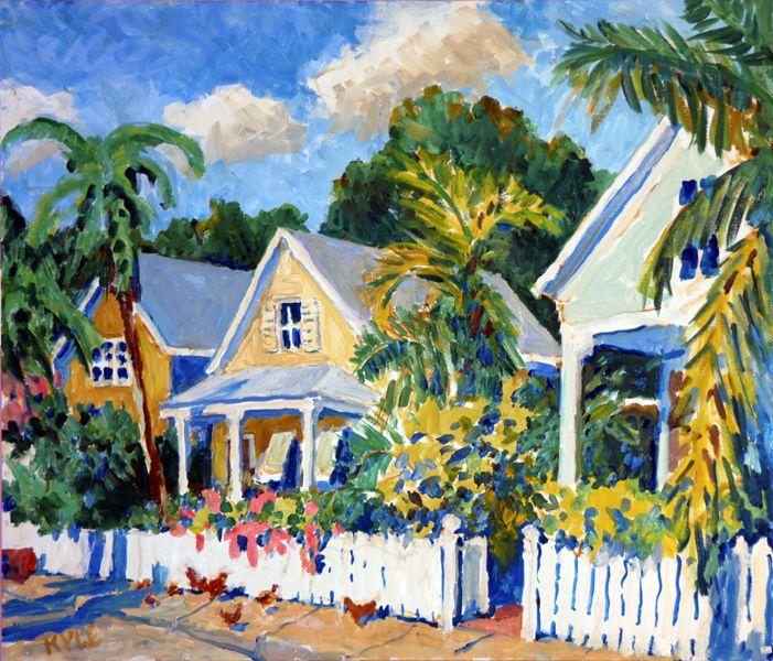 Cozy Key West Home House Tour: Cottage Art, Art, Home Art