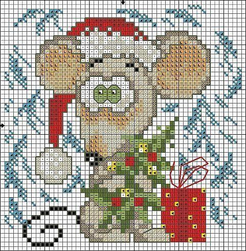 Funny Christmas Mouse