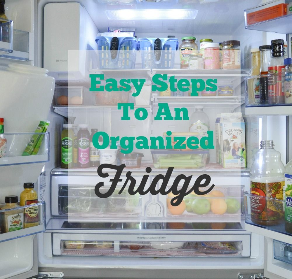 Tips For Organizing Your Refrigerator   Refrigerator, Organizing and ...