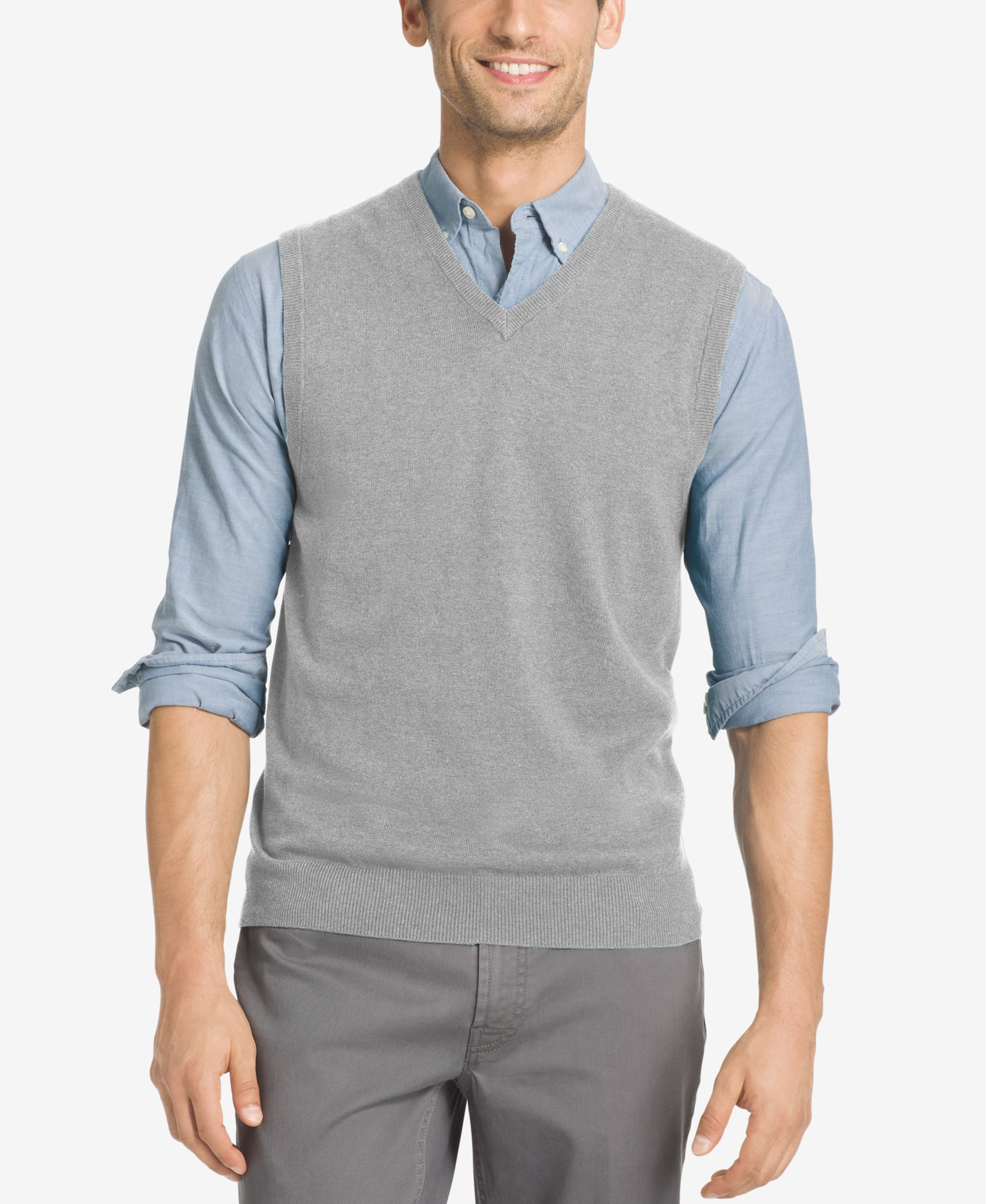 Izod Men's Campus Sweater Vest | Cardigans For Men | Pinterest