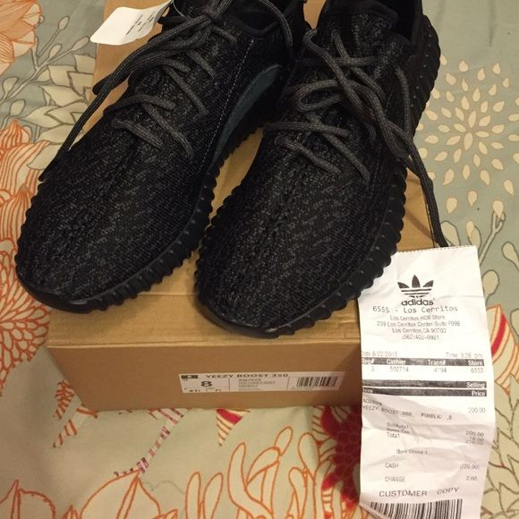 How to tell if yeezys are fake I've just seen a lot of fake yeezys on here  and someone sold me this FAKE pair with a fake receipt (which I'm in the ...