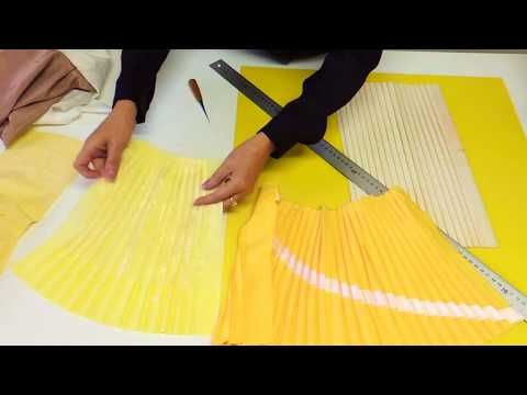 How to Pleats Please. - YouTube | Ραπτική | Pinterest | Sewing ...